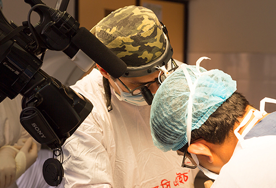 London Paediatric Surgeon Charity Work